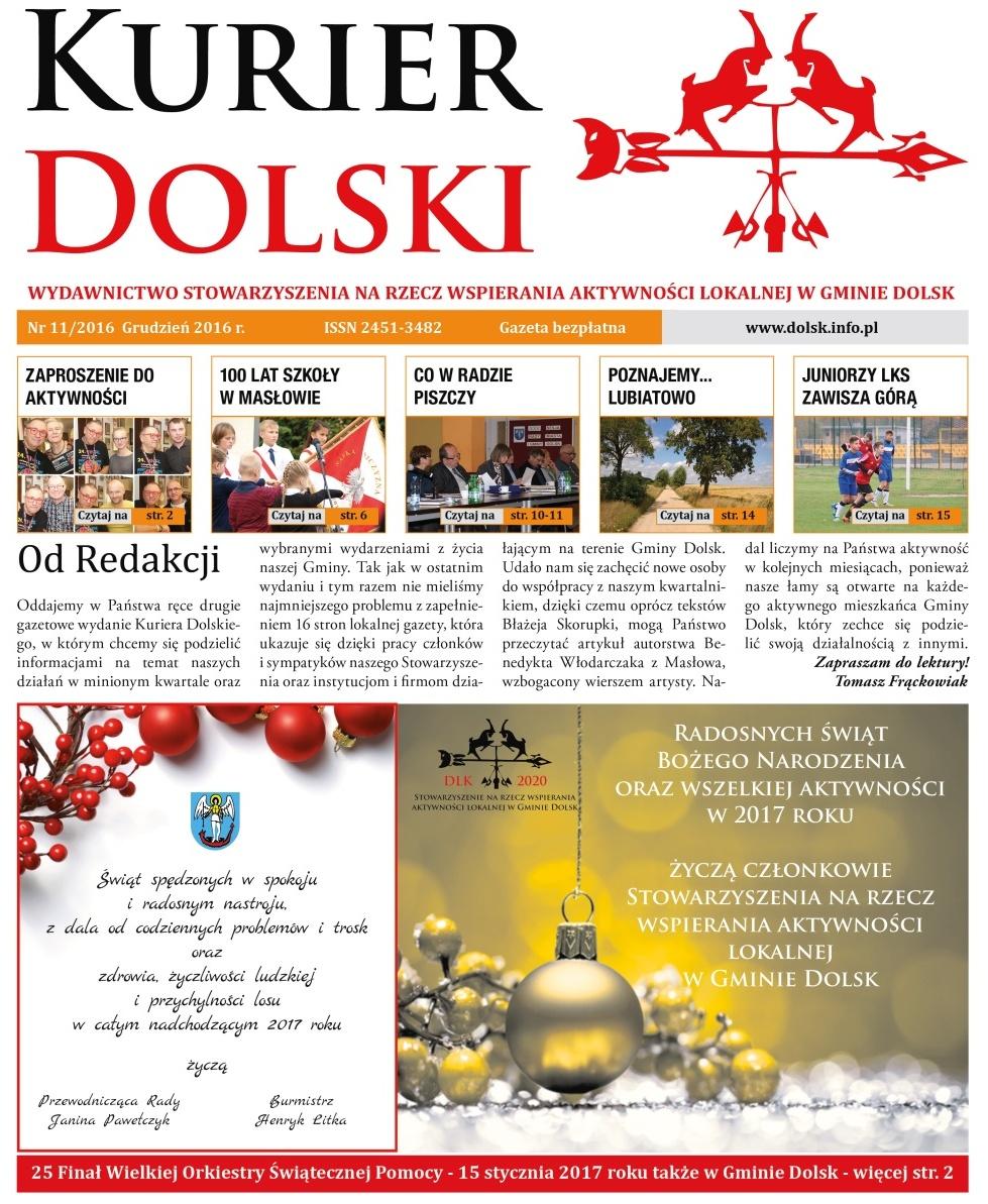 Kurier Dolski nr 11/2016